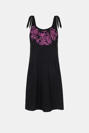 Ženska crna haljina LOAP Berunka