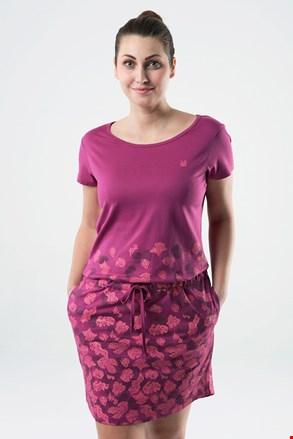 Ženska tamnoružičasta haljina LOAP Asmen