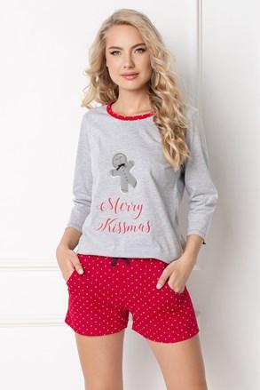 Ženska pidžama Cookie kratka