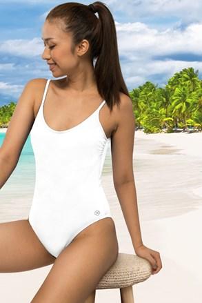 Ženski jednodijelni kupaći kostim Rhodes bijeli