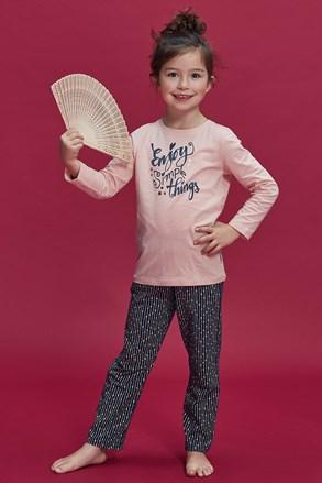 Pidžama za djevojčice Enjoy things