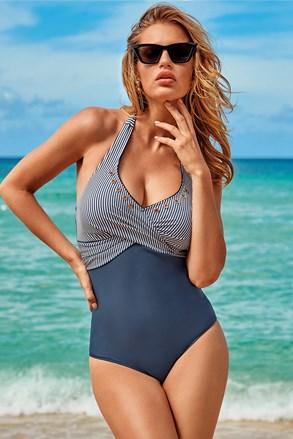 Ženski jednodijelni kupaći kostim Capri Navy