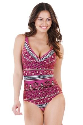 Ženski jednodijelni kupaći kostim Elisea ružičasti