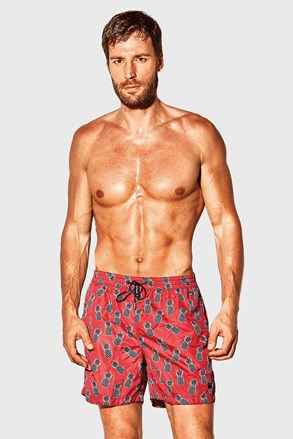 Crvene kupaće hlače David 52 Caicco
