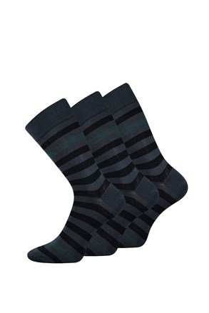 3 pack elegantnih čarapa Demertz