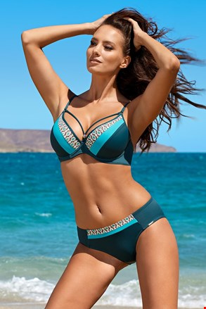 Ženski dvodijelni kupaći kostim Demi blue