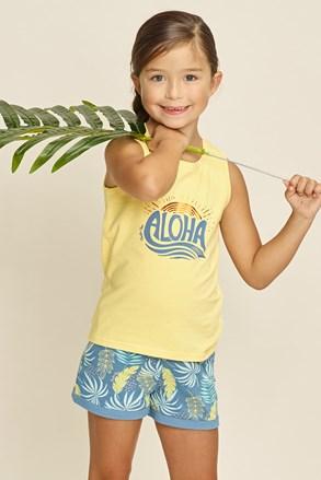 Pidžama za djevojčice Aloha Palms
