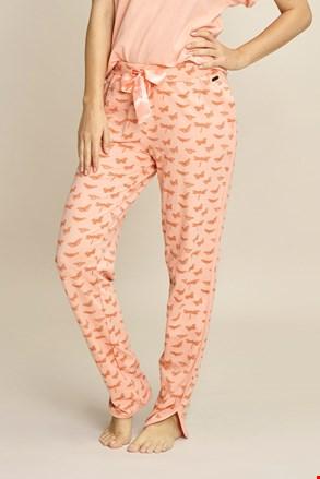 Ženske hlače za spavanje Orange Butterfly