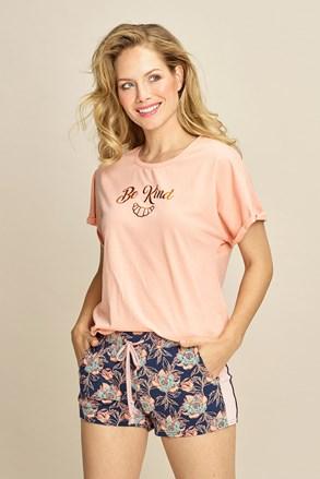 Ženska majica za spavanje Be kind