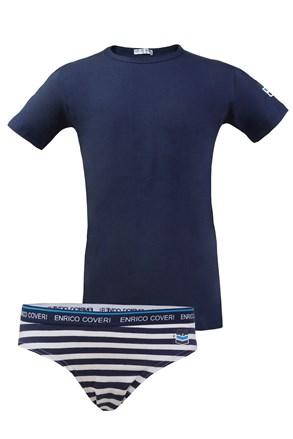 Komplet gaće i majica za dječake Enrico Coveri