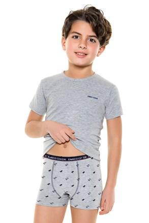 Komplet bokserica i majice za dječake E. Coveri 4087