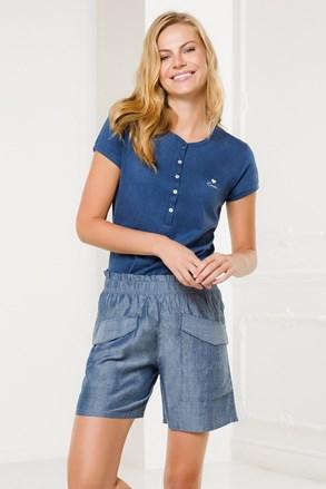 Ženski kućni komplet Pantalone plavi