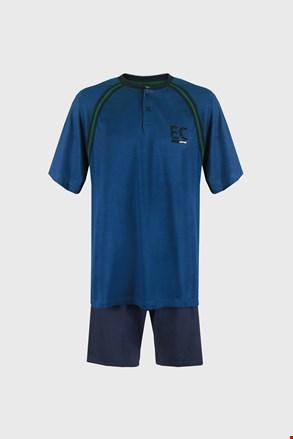Plava pidžama Casey PLUS SIZE