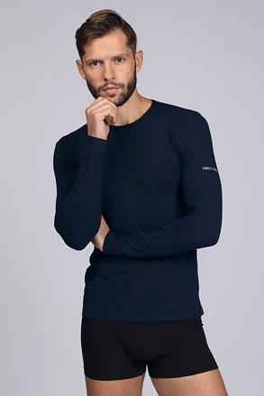 Tamnoplava majica dugih rukava