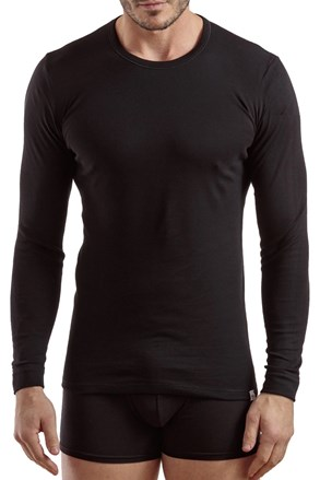 Muška majica dugi rukavi E.Coveri 1204 crna