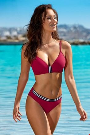 Ženski dvodijelni kupaći kostim Edith Red