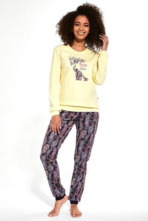 Ženska pidžama Elephants