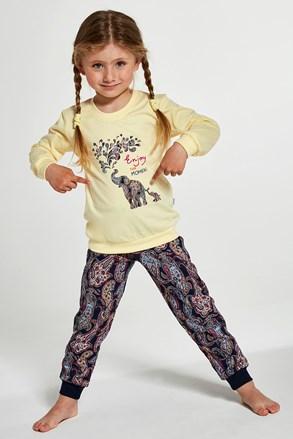 Pidžama za djevojčice Elephants