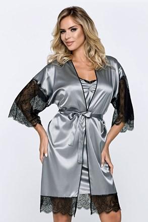 Ženski ogrtač Escora sivi