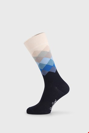 Čarape Happy Socks Faded Diamond plave