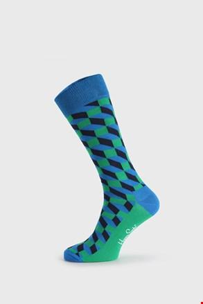 Čarape Happy Socks Filled Optic zeleno-plave