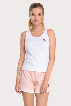 Ženski bijelo-ružičasti komplet FILA French terry