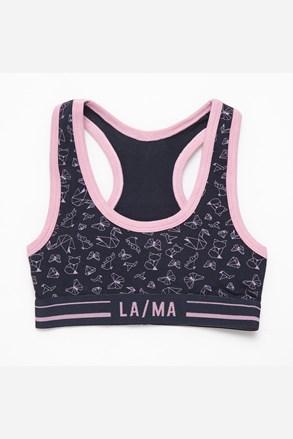 Majica za djevojčice LAMA plava