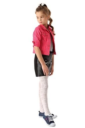 Čarape s gaćicama za djevojčice Hearts