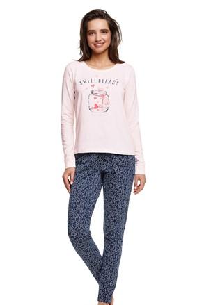 Ženska pamučna pidžama Hearty