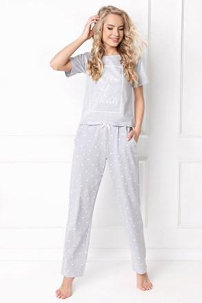 Ženska pidžama Hearty dugačka