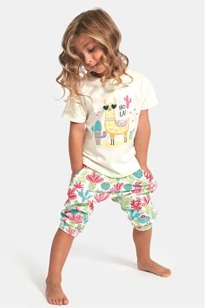 Pidžama za djevojčice Hola lama