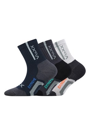 3 pack sportske čarape za dječake Josifek