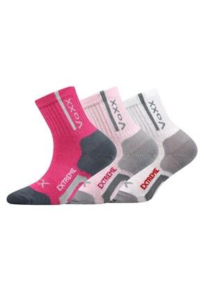 3 pack sportske čarape za djevojčice Josifek