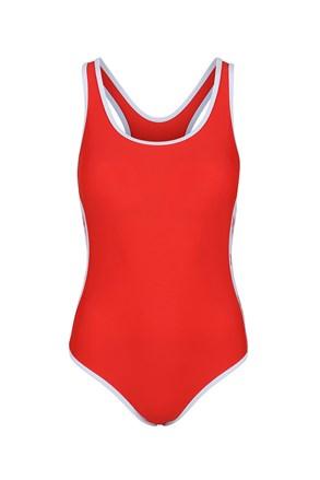 Ženski jednodijelni kupaći Reebok Alyssa Red