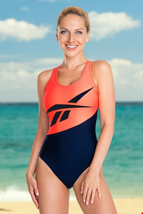 Ženski jednodijelni kupaći kostim Reebok Rita