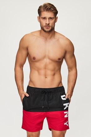 Crno-crvene kupaće hlače DKNY Naxos