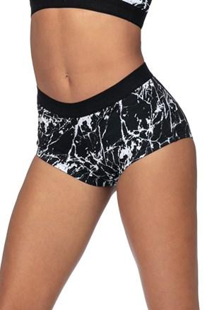Ženske sportske kratke hlače Mramor