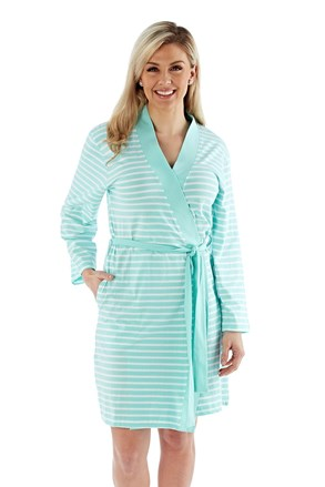 Ženski ogrtač Kimono menta