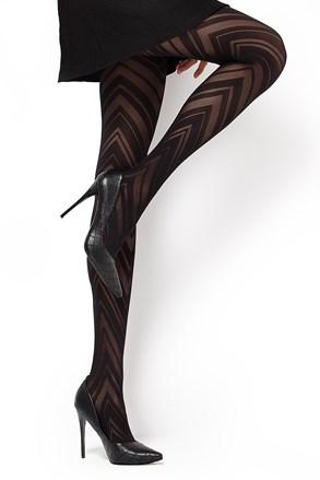 Čarape s gaćicama s uzorkom Lola1 60 DEN
