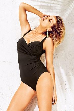 Oblikujući talijanski jednodijelni kupaći kostim Anna