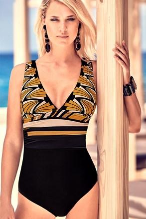 Oblikujući talijanski jednodijelni kupaći kostim Emilia