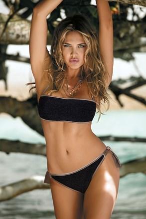 Ženski dvodijelni kupaći kostim Mia Black