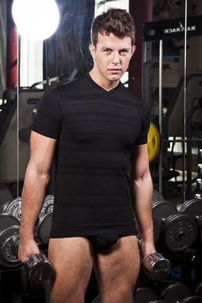 Muška majica HASTER Slimfit Sport bešavna
