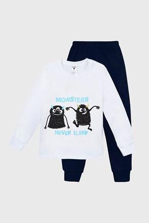 Svjetleća pidžama za dječake Monsters