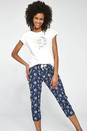 Ženski trodijelni komplet pidžame To the Moon