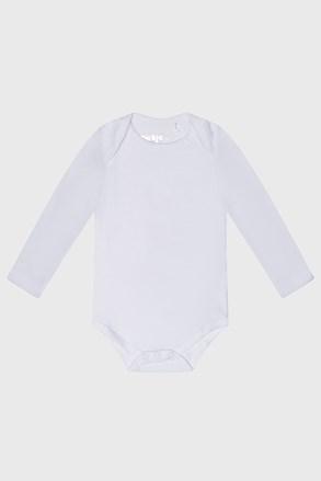 Bodi za bebe dugih rukava Baby bijeli