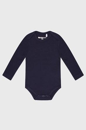 Bodi za dječake bebe dugih rukava Baby plavi