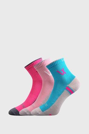 3 PACK čarapa za djevojčice VOXX Neonik