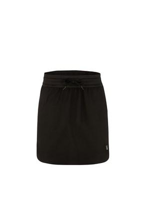 Ženska crna sportska suknja LOAP Unke