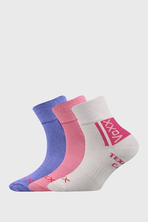 3 PACK čarapa VOXX Optifanik za djevojčice